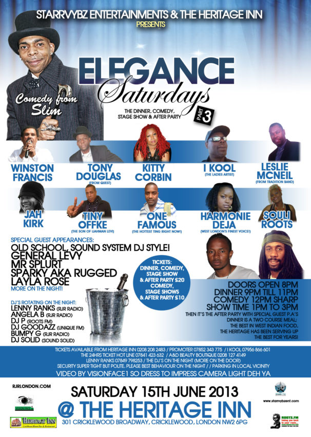 ELEGANCE SATURDAYS POSTER